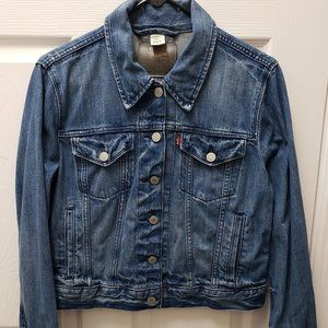 Levis Denim Trucker Jacket Large
